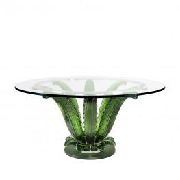 Lalique Cactus Table Round